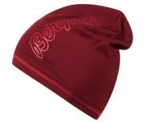 Bloom Wool Beanie red