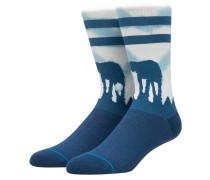 Hoth Star Wars Socken blau