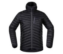 Slingsbytind Down Hooded Outdoor Jacket soliddarkgr