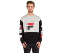 Jamie Crew Sweater light grey melange
