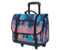 Camo Wheely Satchel Backpack blue