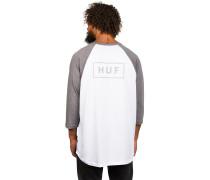 Reflective Bar Logo Raglan T-Shirt weiß
