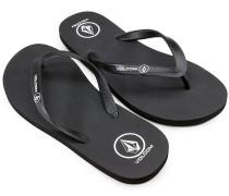 Rocker Solid Sandalen schwarz