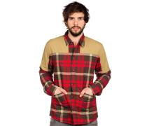 Rapid Flannel Hemd rot
