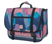 Camo Satchel Backpack blue