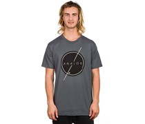 Strike Thru T-Shirt grau