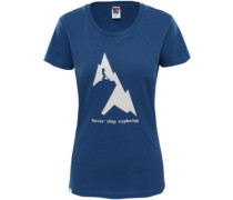 NSE Series T-Shirt blue wing teal