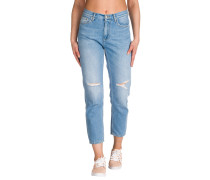 Page Carrot Ankle Jeans blau