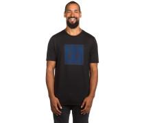 O-Blur Stack T-Shirt schwarz