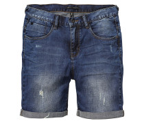 Select Denim Shorts blau