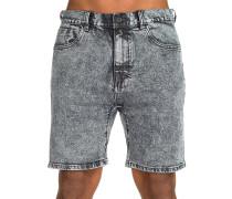 Lo Slung Select Denim Shorts grau