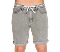 Slim Shot2 Denim Shorts grau