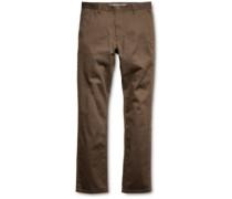 E2 Straight Chino Pants brown