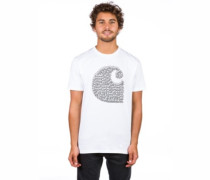 Duck Swarm T-Shirt white