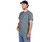 Overdyed Vert Stripe T-Shirt