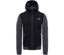 Kilowatt Varsity Fleece Jacket asphalt grey