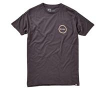 Hippie Flower T-Shirt faded black