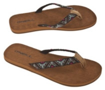Evie Sandals Women black aop