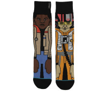 The Resi 2 Star Wars Socken orange