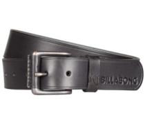 Curva Leather Belt black