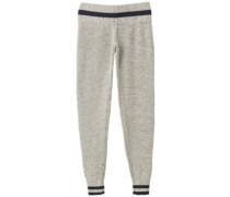 Loomed Jogging Pants heather grey