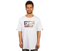 Bricks Core Logo T-Shirt weiß