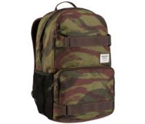Treble Yell Backpack brushstroke camo