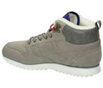 Classic Leather Mid Outdoor Shoes Women dffsd blu