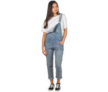 Bib Overall Dungarees blue light stone washed