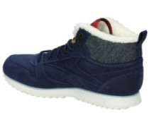 Classic Leather Mid Outdoor Shoes Women zee blue