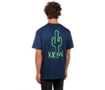 Succulent T-Shirt navy
