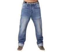 Ground Jeans blau
