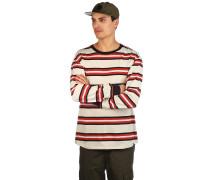 Newbie Stripe Longsleeve T-Shirt red