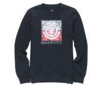 Log Jam Crew Sweater flint black