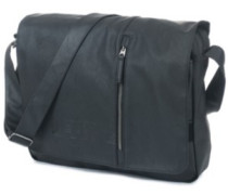 Lezer Satchel Camo Bag black