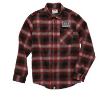 Sub Pop Flannel Hemd rot