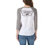 Full Patch Raglan T-Shirt LS grey heather