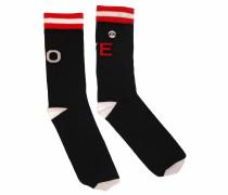 Fussball AT Socken schwarz