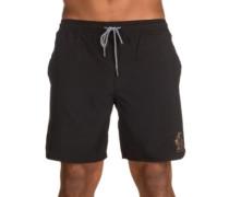 The Black Beach Shorts black