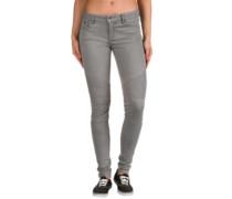 Rebel Bikers Jeans bleached grey