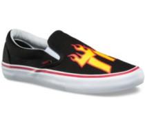 Slip-On Pro Skate Shoes (thrasher) black