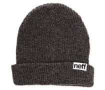 Fold Heather Beanie grey