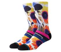 Jimi Hendrix Sunflowers Socks