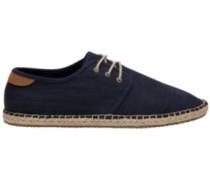 Diego Sneakers navy slubby cotton