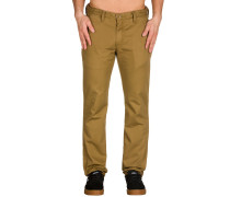 Authentic Chino Stretch Hose braun