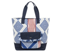 Heart By The Sea Bag clematis blue