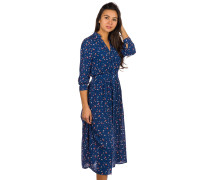 Beach Muse Long Dress pacific blue