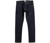 Distorsion Jeans blau