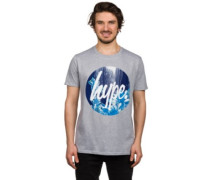 Drips Circle T-Shirt grey