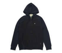 Balance Zip Up Hoodie indigo heather